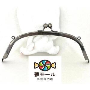 【お得な♪全10色セット】(1434)がま口 口金 8.5cm ハート シルバー 丸型 縫い付けタイプ|gamagutinoyumemall