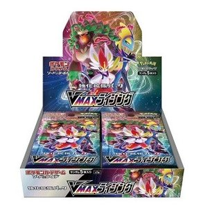 【即日出荷】ポケモンカードゲーム ソード&シールド 強化拡張パック VMAXライジング BOX 99...