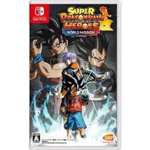 【発売日前日出荷】(初回封入特典付)Nintendo Switch スーパードラゴンボールヒーローズ ワールドミッション (4.4  新作) 050998