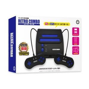 【即日出荷】FC/SFC用互換機 レトロコンボ RETRO COMBO (CC-RETCO-BK) 140325|gamedarake-store
