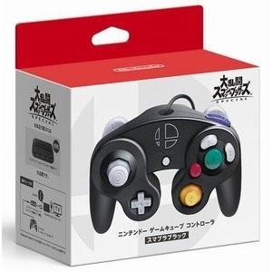 【即日出荷】Switch ニンテンドー ゲームキューブ コントローラ スマブラブラック 500646