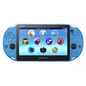 【送料無料!※一部地域除く・即日出荷】PSVita Wi-Fiモデル アクア・ブルー(PCH-2000) (PSVita本体) 140856|gamedarake-store