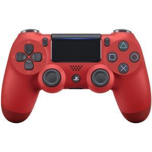 【即日出荷】PS4 ワイヤレスコントローラー DUALSHOCK4 マグマ・レッド 900132|gamedarake-store