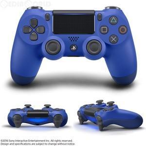 【即日出荷】(フォートナイト限定コード付)PS4 ワイヤレスコントローラー DUALSHOCK4 ウェイブ・ブルー 900133|gamedarake-store