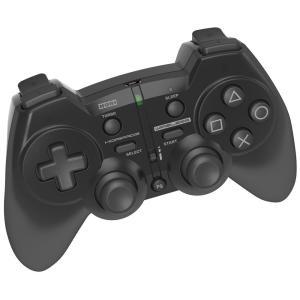 【即日出荷】PS3 ホリパッド3 ワイヤレス ブラック コントローラー 100259|gamedarake-store
