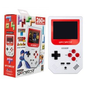 持ち運びサイズのレトロゲームGo Retro Portable ゴーレトロ ポータブルゲーム クラシ...