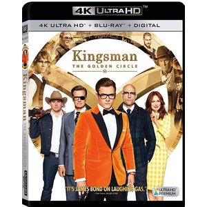 Kingsman: The Golden Circle 内容;4K Ultra HD/Blu-ray...