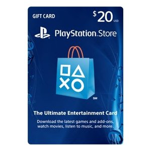 Playstation network store gift card 20 psn playstation network store gift card 20 psngamemu negle Gallery