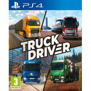 【日本語表記対応】トラックドライバー 欧州版の商品です。日本のPS4本体でプレイいただけます。 こち...