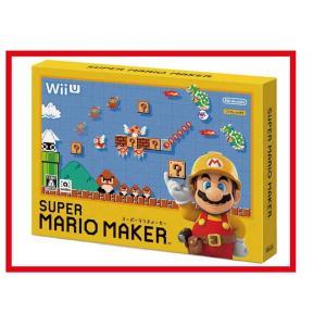 【新品】(税込価格) WiiU スーパーマリオメーカー(SUPER MARIO MAKER)★新品未...