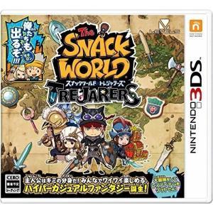 ネコポス便送料無料・即日出荷】(初回封入特典付)3DS スナックワールド トレジャラーズ|gameuga
