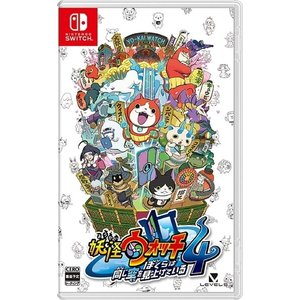 キャッシュレス5%還元新品(封入特典付)Nintendo Switch 妖怪ウォッチ4 ぼくらは同じ...