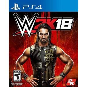 【新品商品】 WWE 2k18 PlayStation4用ソフト、北米輸入版です。 言語は英語となり...