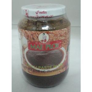 ナムプリックパオ(蝦味噌・チリインオイル・メープロイ社製・456gタイ調味料) ハラル認定|gamlangdii-store