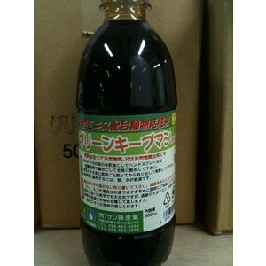 グリーンキープマン(500ml)害虫忌避剤・EM菌配合・無農薬栽培、有機栽培に|gamlangdii-store