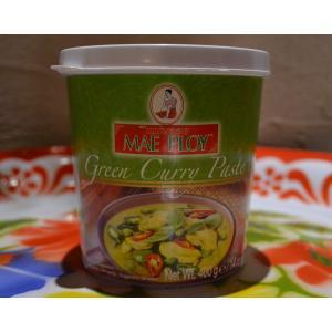 グリーンカレーペースト・メープロイ・400g(ココナッツミルクカレー・ゲーン・タイ料理・タイカレー・タイ調味料)ハラル認定|gamlangdii-store