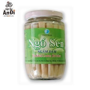 蓮茎 ハス茎 ゴーセン ハスの茎の酢漬け ngo sen|gamlangdii-store