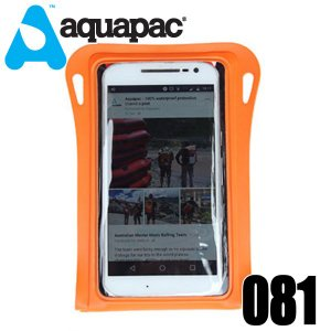 aquapac アクアパック 081 オレンジ完全防水ケース TrailProof Phone Case gamusharana-sports
