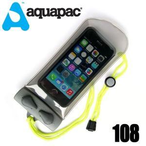 aquapac アクアパック 108 小型のスマートフォン・携帯電話・GPS用ケース(ミニ)  gamusharana-sports