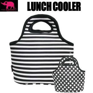 PINK ELEPHANT  ランチクーラー ブラックコンビ 保冷バッグ ウェット素材 gamusharana-sports