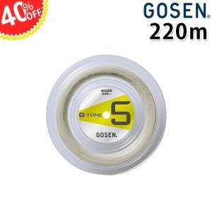 バドミントン ガット G-TONE5 220m ゴーセン BS0653 GOSEN 4割引 プレゼント付き