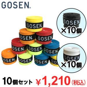 バドミントン グリップテープ ゴーセン スーパータックグリップ 10個セット GOSEN
