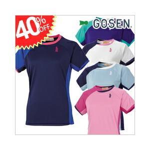 【名称】 ゲームシャツ(レディース) 【型番】 T1505 【メーカー】 GOSEN/ゴーセン 【定...