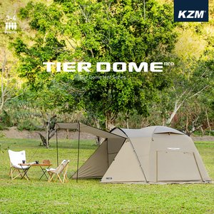 KZM ティアドームネオ 3〜4人用 テント ドームテント フルクローズ タープ キャンプ アウトドア 軽量 コンパクト 簡単 3人 4人  (kzm-k20t3t006) ganbari-store
