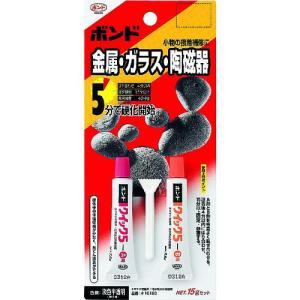 コニシ(株) コニシ ボンドクィック5 6gセット(ブリスターパック) #16113 BQ5-6B 1S|ganbariya-shop