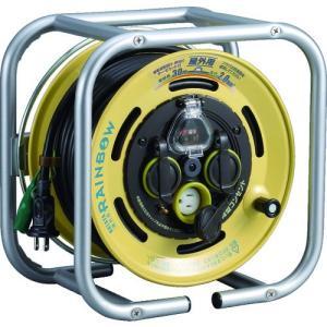 【送料無料】ハタヤ 段積みリールケーブルタイプ 漏電遮断器付 接地付温度センサー付 DSBE-30KC 1台【北海道・沖縄送料別途】|ganbariya-shop