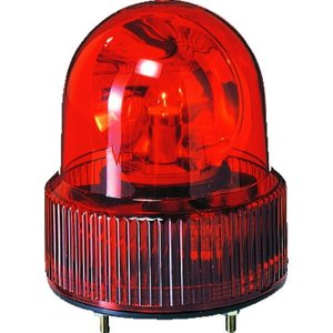 (株)パトライト パトライト SKH−A型 小型回転灯 Φ118 オールプラスチックタイプ 色:赤 SKH-101A-R 1台【100-4506】|ganbariya-shop