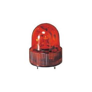 (株)パトライト パトライト SKH−A型 小型回転灯 Φ118 オールプラスチックタイプ 色:赤 SKH-110A-R 1台【100-4565】|ganbariya-shop