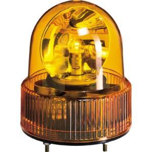 (株)パトライト パトライト SKH−A型 小型回転灯 Φ118 オールプラスチックタイプ 色:黄 SKH-120A-Y 1台【100-4603】|ganbariya-shop