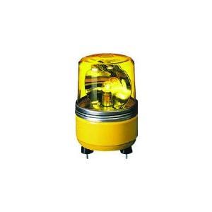 (株)パトライト パトライト SKH−EA型 小型回転灯 Φ100 色:赤 SKH-12EA-R 1台【100-4620】|ganbariya-shop