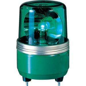 (株)パトライト パトライト SKH−EA型 小型回転灯 Φ100 色:緑 SKH-24EA-G 1台【100-4646】|ganbariya-shop