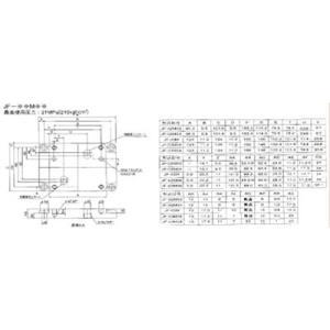 ダイキン工業(株) ダイキン サブプレート 接続口径Rc1/2 JF-02M04 1個【101-5702】 ganbariya-shop