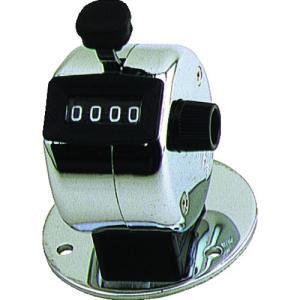 (株)古里精機製作所 古里 台付数取器 4桁 H-102B 1個【101-6440】|ganbariya-shop
