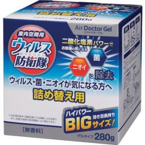 novopin エアドクターゲルBIGサイズ280G詰め替え用 K-2490 1個 ganbariya-shop