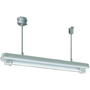 岩崎 防爆形直管LED照明器具32×1定格出力形相当 パイプ吊 電線管径φ22 1台【別途運賃必要なためご連絡いたします。】|ganbariya-shop