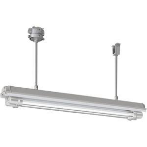 岩崎 防爆形直管LED照明器具32×2定格出力形相当パイプ吊形 電線管径φ22 1台【別途運賃必要なためご連絡いたします。】|ganbariya-shop