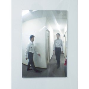 【送料無料】コミー FFミラー通路<片側用> 325×485 FT33A 1個【北海道・沖縄送料別途】|ganbariya-shop