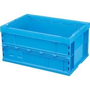 積水 折りたたみコンテナ OC−75L 青 OC75LSB 1個|ganbariya-shop