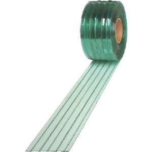 アキレス ストリップ型ドアカーテン アキレスミエール一般制電ライン2×200 1巻【代引不可・メー直】【別途運賃必要なためご連絡いたします。】|ganbariya-shop