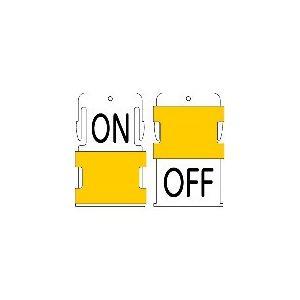 IM スライド表示タグ ON OFF (ON − 黒文字 / OFF − 黒文字) AIST-27 1枚|ganbariya-shop