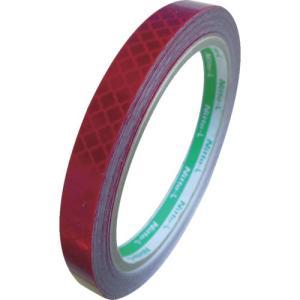 日東エルマテ 高輝度プリズム反射テープ10mmX5M レッド HTP-10R 1巻|ganbariya-shop