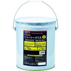 【送料無料】TRUSCO シャーシーグリス #2 16Kg CGS-160-2 1缶【北海道・沖縄送料別途】|ganbariya-shop