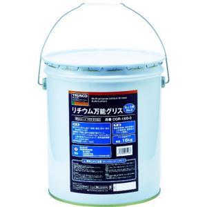 【送料無料】TRUSCO リチウム万能グリス #0 16kg CGR-160-0 1缶【北海道・沖縄送料別途】|ganbariya-shop