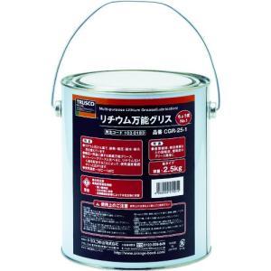TRUSCO リチウム万能グリス #1 2.5kg CGR-25-1 1缶|ganbariya-shop