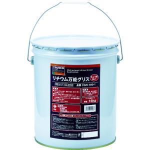 【送料無料】TRUSCO リチウム万能グリス #1 16kg CGR-160-1 1缶【北海道・沖縄送料別途】|ganbariya-shop
