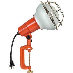 (株)ハタヤリミテッド ハタヤ 防雨型作業灯 リフレクターランプ500W 100V電線0.3m バイス付 RE-500 1台【106-1968】|ganbariya-shop